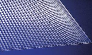 polycarbonat universal stegplatten fuer gewaechshaeuser klar 1500 x 700 x 45 mm - Stegplatten - modern bauen