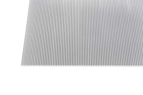 stegplatten hohlkammerplatten doppelstegplatten gewaechshausplatten 6 mm stark klar 1500 mm x 700 mm - Gutta Polycarbonat Stegplatten Hohlkammerplatten Klar 1500 x 700 x 6 mm (1500 mm x 700 mm)