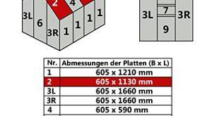 Jawoll Hohlkammerplatte fuer Gewaechshaus Gartenhaus Treibhaus Nr 2 605 x 310x165 - Jawoll Hohlkammerplatte für Gewächshaus Gartenhaus Treibhaus (Nr. 2 (605 x 1130 mm))